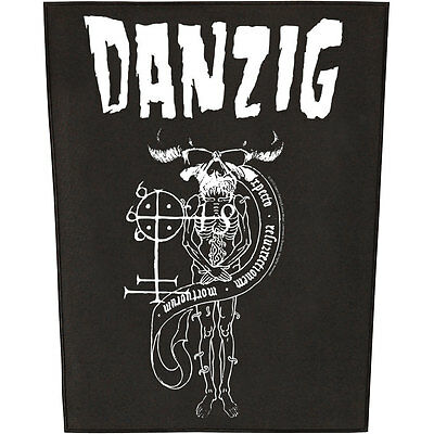 Danzig Men's 18 Beast Back Patch Black