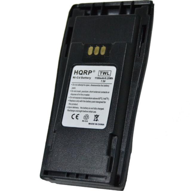 Motorola NNTN4496 7.2V Ni-Cd 1000mAh Battery for Motorola GP3138 GP3688 PR400