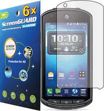 6x Clear LCD Screen Protector Guard Cover Shield Film Kyocera DuraForce E6560