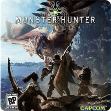 PS4 Monster Hunter: World / 怪物猎人 世界 SONY Capcom Action RPG Games PREORDER