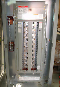 Cutler Hammer Single Phase Circuit Breaker Panel Board 42