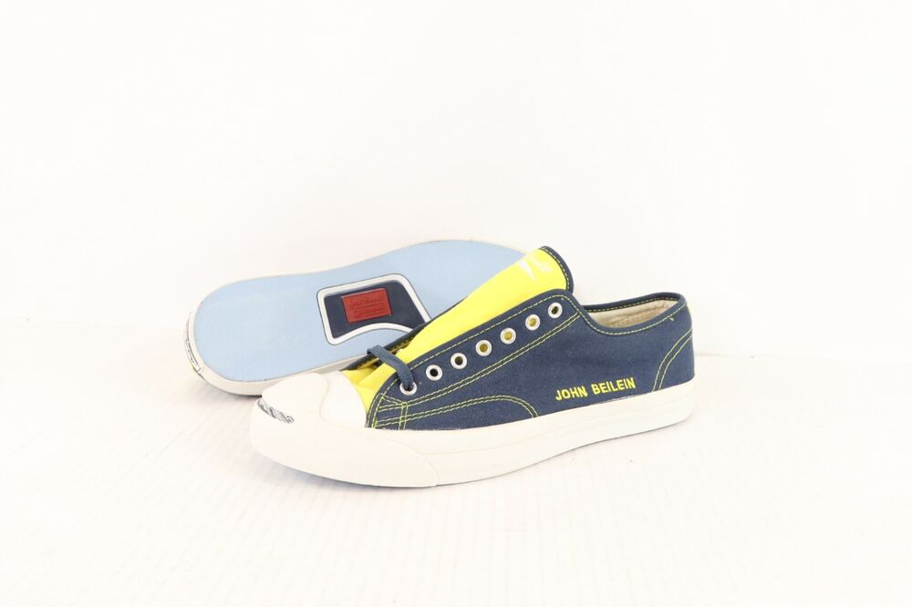 Neuf Jack Purcell Converse Hommes 11 John Beilein Custom Michigan Carcajou Shoes