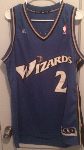c81676be2b0 John Wall Washington Wizards Nba Jersey Men M Sewn Adidas  2 Beal Arenas  Hwc Vtg