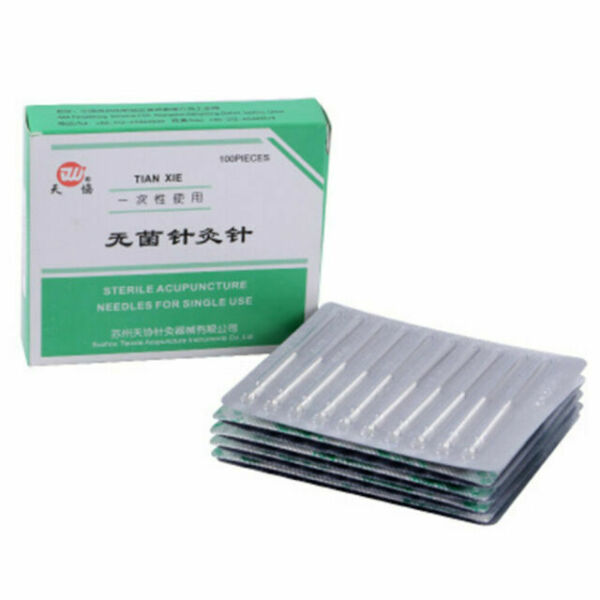 100pcs Disposable Acupuncture Sterile Needles Dry Needling ...