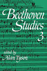 Beethoven Studies 3: Pt. 3 by Cambridge University Press (Paperback, 2009)