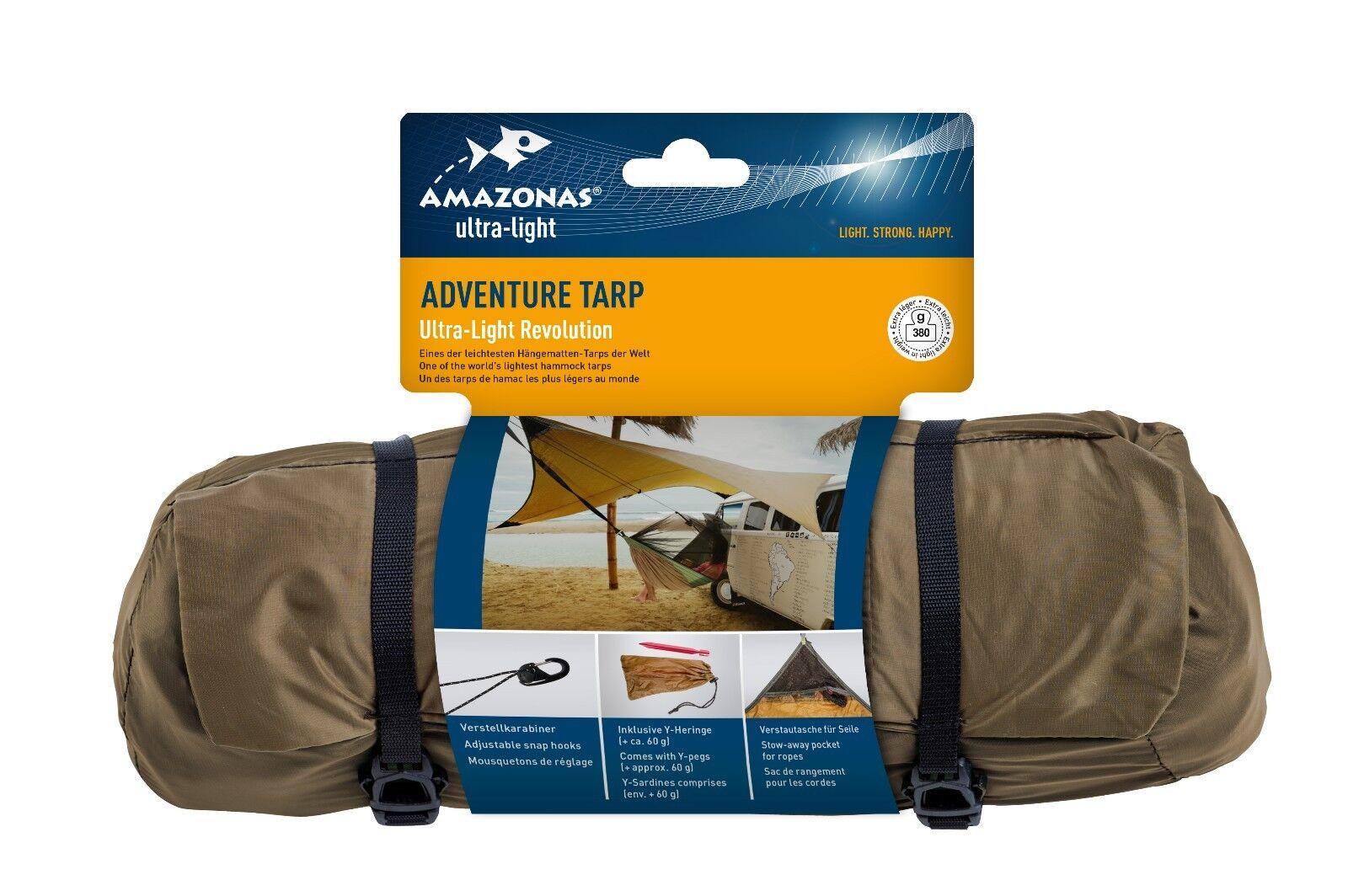 Amazonas TARP modelo Adventure ripstop 20t 2 & veces de silicona incl. arenques & 2 bolsa ee3baf