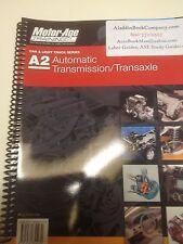 ase study guide a2 automatic transmission transaxle ebay rh ebay com Peerless 2300 Transaxle Transaxle Diagram