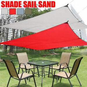 Image Is Loading Sun Shade Sail Waterproof Outdoor Canopy Cover Sand