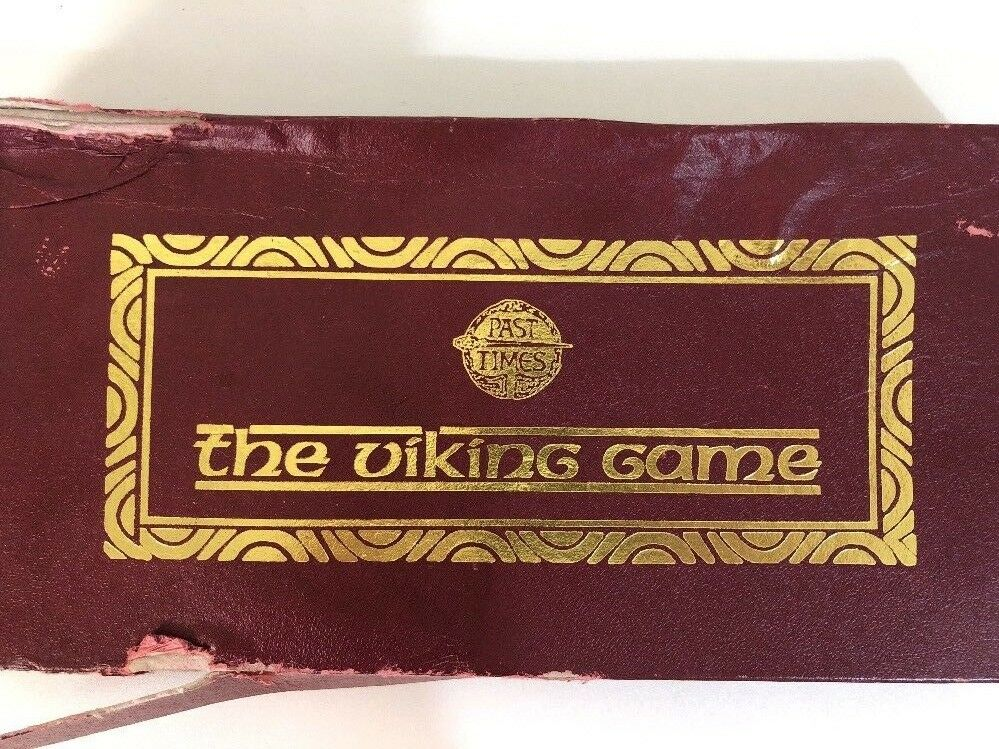 The Viking Game - Vintage Board Game - 100% Complete