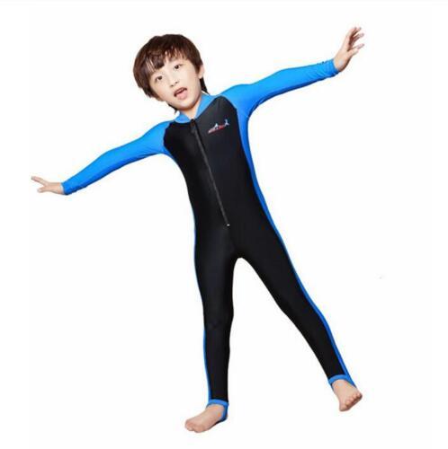 Kids Snorkeling Wetsuit Snorkeling Diving Skin Swimwear Jumpsuit Beach Rashguard