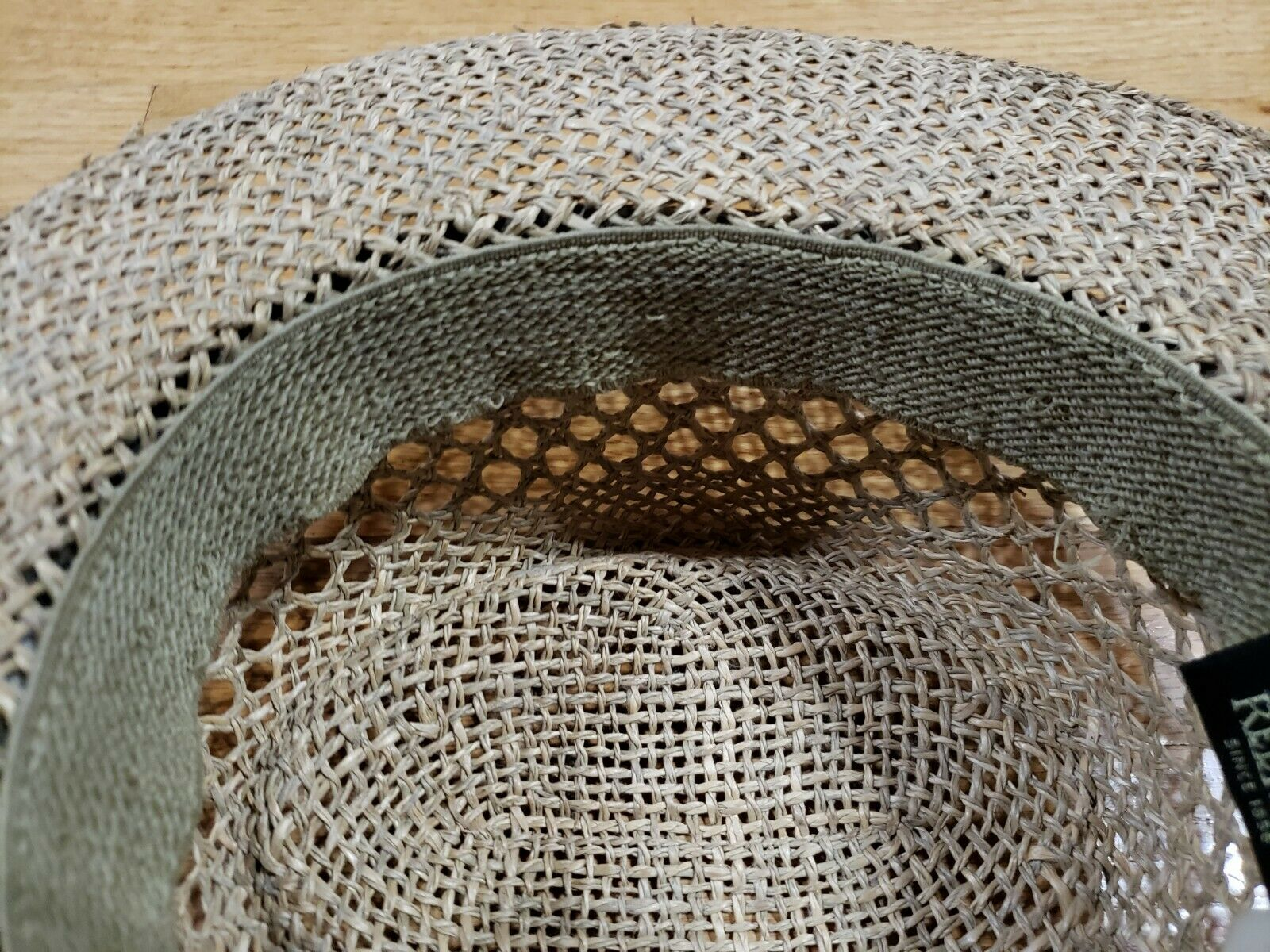 Authentic RedHead Straw Hat Cap 100% Straw One Si… - image 10