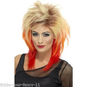 Image is loading Women-039-s-80-039-s-Mullet-Wig-  sc 1 st  eBay : 80s punk girl costume  - Germanpascual.Com