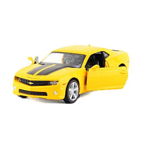 Chevrolet Camaro ZL1 Yellow Mini Car Display Miniature Car WELLY 1:38 2018 New