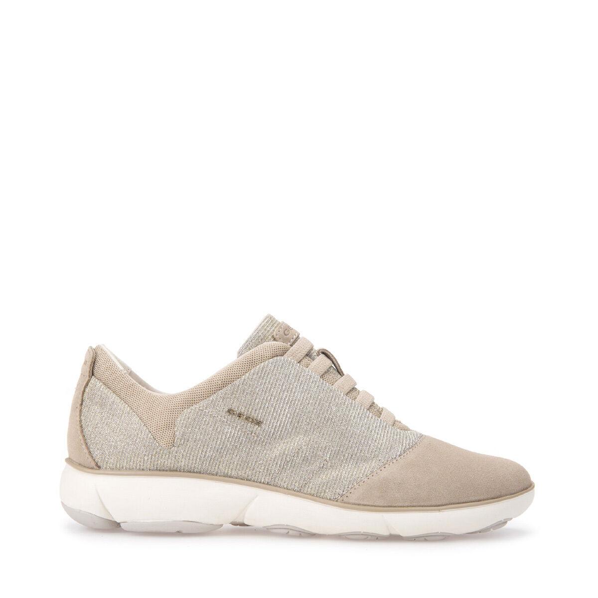 GEOX zapatos mujer zapatillas E LINEA NEBULA D641EG, LEGGERA, IN TELE E zapatillas SEUDE SLIP-ON 48305d