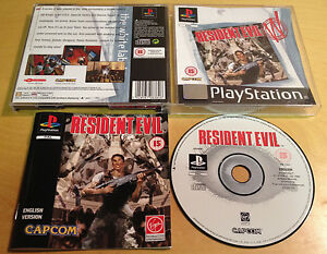 RESIDENT-EVIL-for-SONY-PS1-PS2-amp-PS3-COMPLETE-amp-IN-EXCELLENT-CONDITION-Capcom