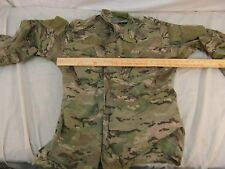 Multicam Army Combat Blouse Medium Long Broken Zipper Small Hole Stain 32321