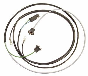 1967 1968 ford mustang hood turn signal wiring harness 13a355b 67 rh ebay com 55 Chevy Turn Signal Wiring 71 Chevelle Turn Signal Wiring