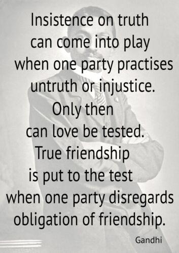 Inspirational Mahatma Gandhi Quotes Poster Print  A0-A1-A2-A3-A4-A5-A6-MAXI 083