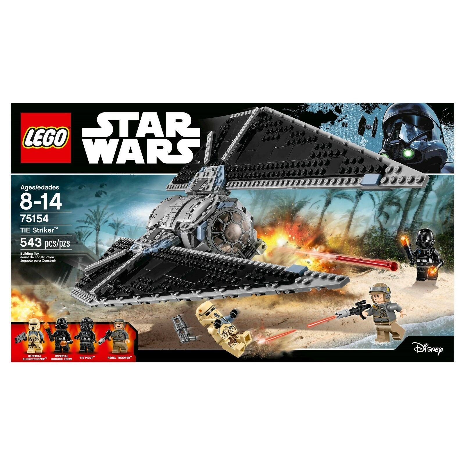 LEGO Star Star Star Wars TIE Striker (75154) 5d0d62