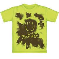 Kids mmm Fudge Scented Neon T Shirt - 100% Cotton