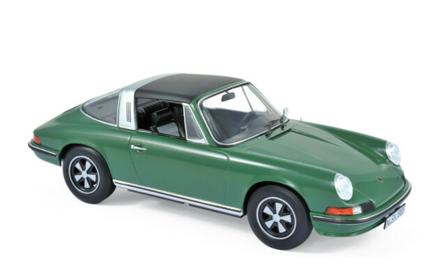 Porsche 911 S Targa Year 1973 Green Scale 1:18 from Norev