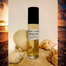 MUSK OUD Unisex by KILIAN Type PERFUME BODY OIL 1/3oz Roll On : UNCUT