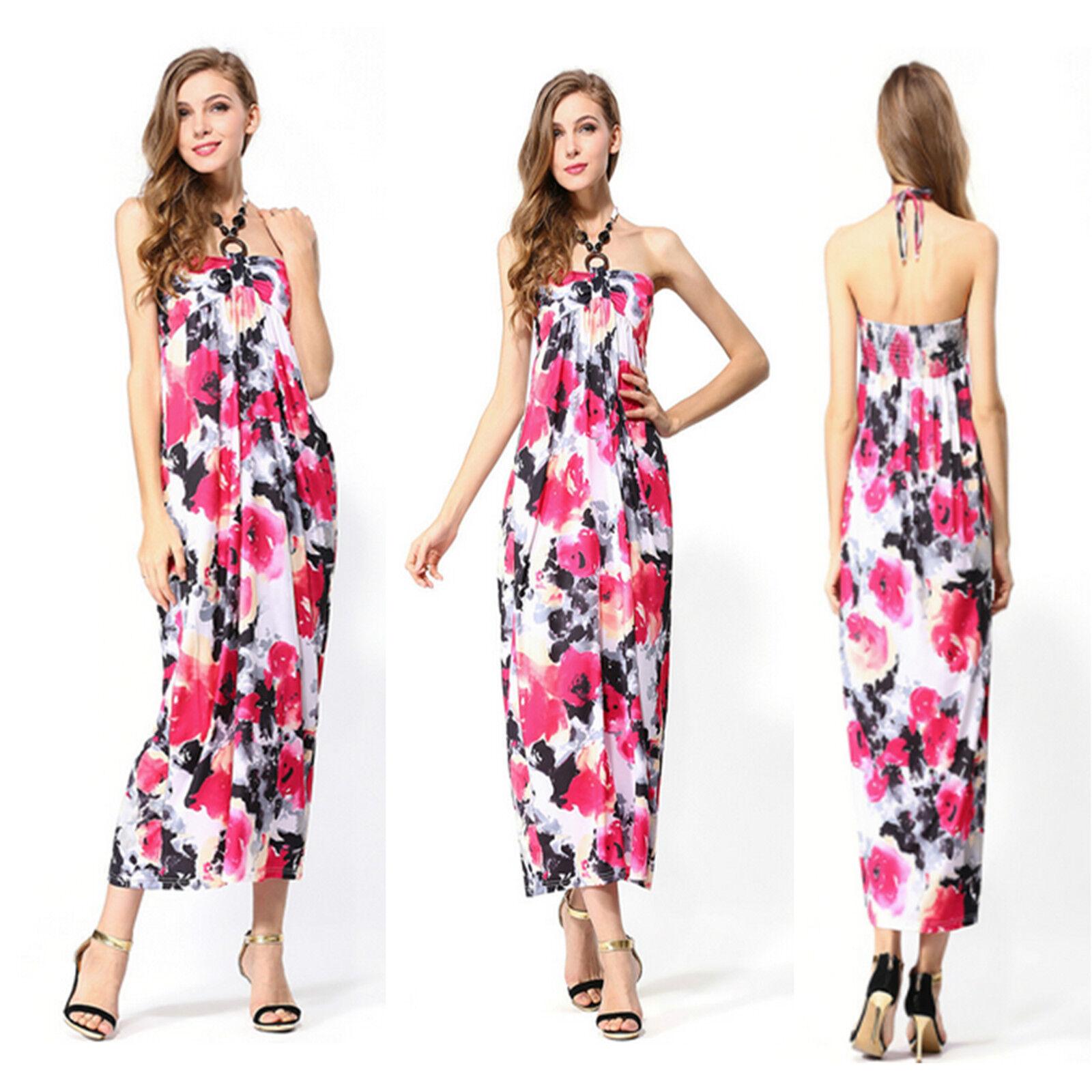 Womens Summer Beach Short Floral Holiday Mini Dress Ladies Evening UK Vincenza
