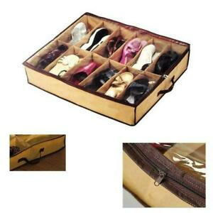 Non-woven-Storage-Box-Shoes-Organizer-Holder-Container-Under-Bed-Fast-shipping