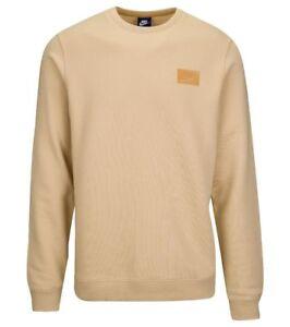 274eac72aadd Nike Men s Size XL Sportswear Fleece Patch Crew Sweatshirt AH8735 ...