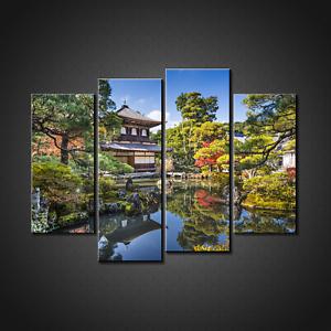 JAPANESE-GARDEN-KYOTO-JAPAN-LANDSCAPE-CANVAS-PRINT-PICTURE-WALL-ART-HOME-DECOR