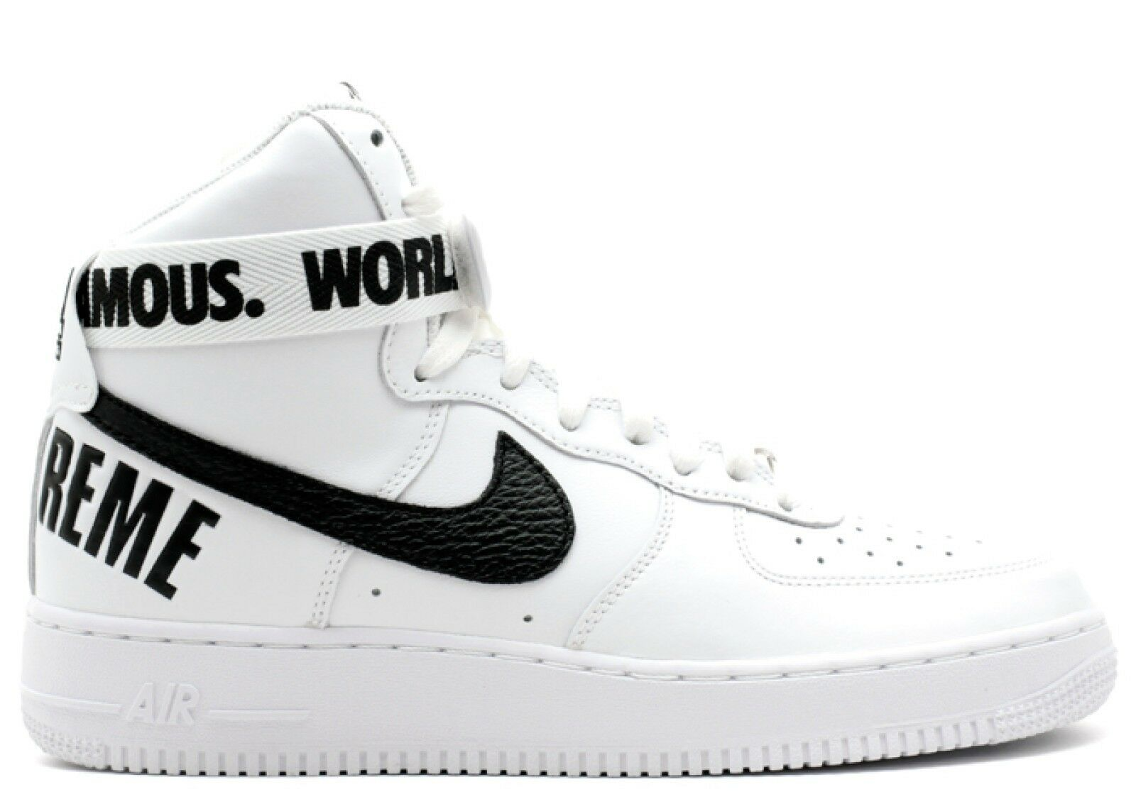 Supreme x Nike Air Force one 1 High Blanc Taille 10.5 US 11.5