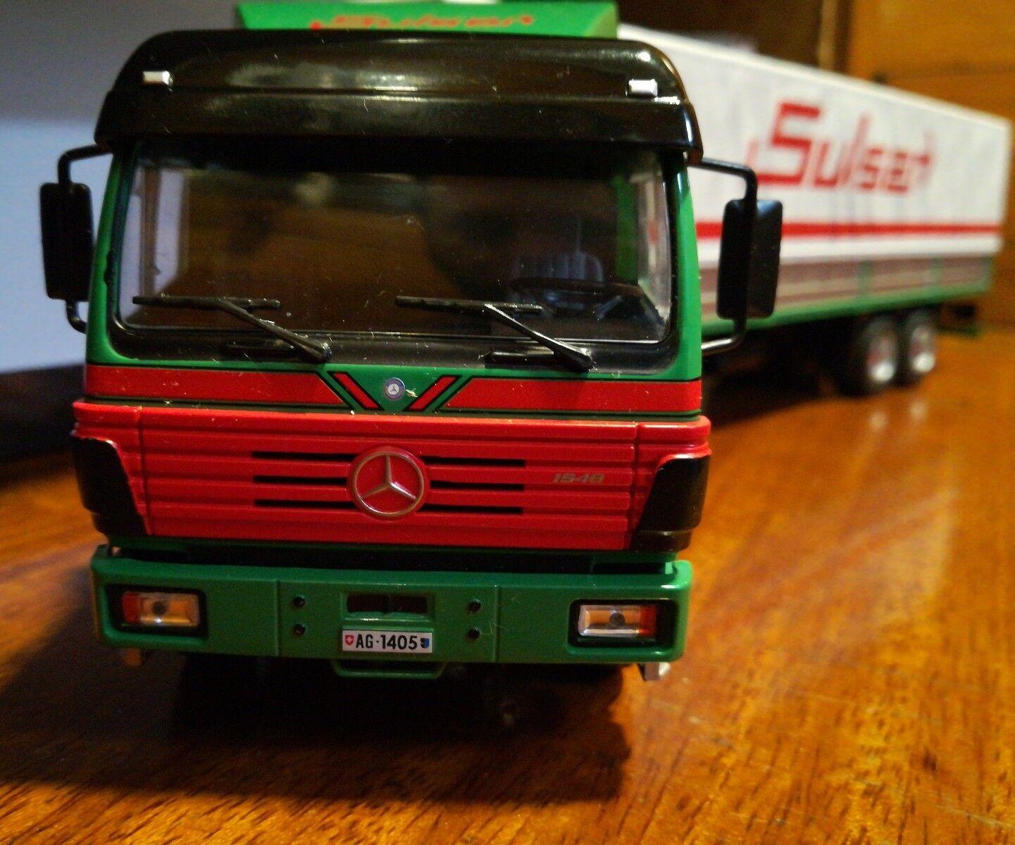 Camion Articulado Mercedes Benz SK 1 43 Altaya
