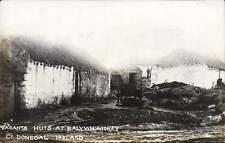 Balywhoriskey, County Donegal. Peasants Huts.