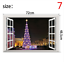 thumbnail 7 - 3D Merry Christmas Wall Decals Removable Window Stickers Decor DIY Art Xmas  *