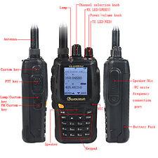 Wouxun Walkie Talkie UHF/VHF Duplex Repeater Two-Way Radio Transceiver SOS Alarm