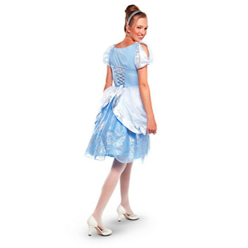 Disney Store Deluxe Princess Cinderella Costume Women Adult Small Medium Large