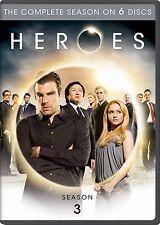 Heroes ~ Complete 3rd Third Season 3 Three ~ BRAND NEW 6-DISC DVD SET