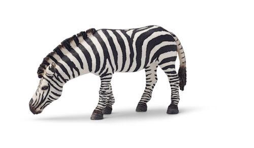 schleichtier schleichtiere Wildlife Schleich cebra grasend yegua 14609 ND 4