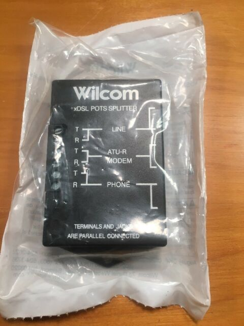 New Wilcom PS-15S-01 xDSL Pots Splitter