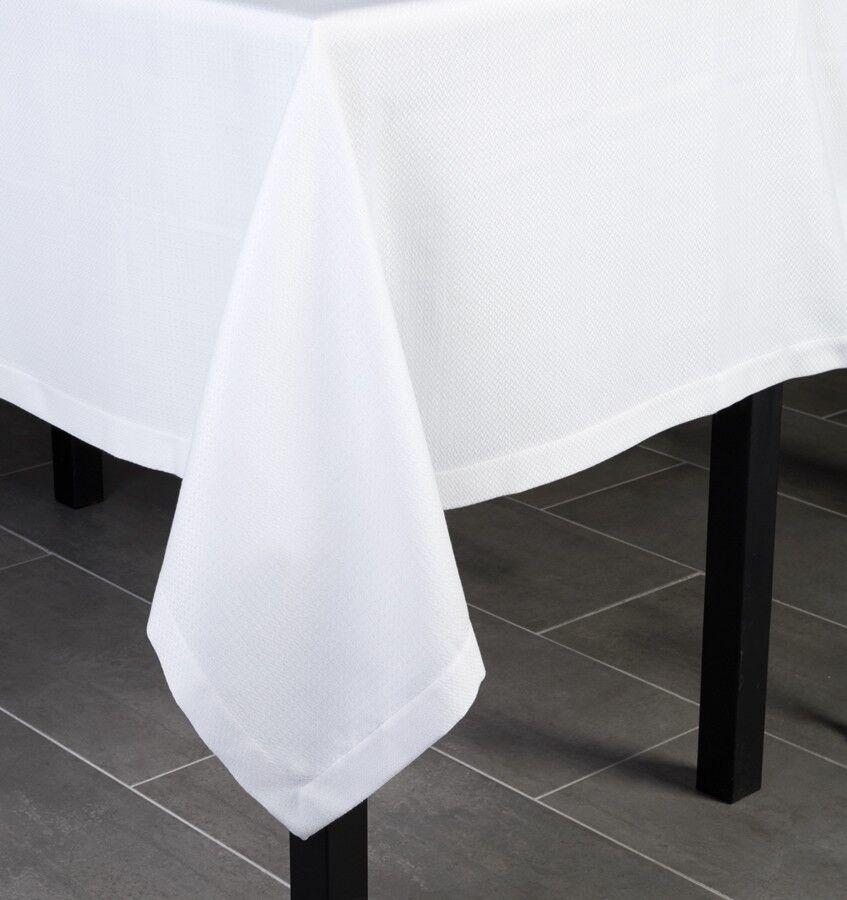 SFERRA Blaine 70x144  Tablecloth - Oyster