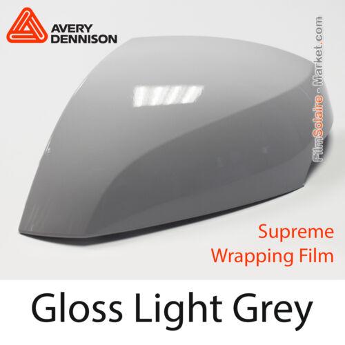 Folie Gloss Licht Grey Proben Avery Dennison Wrapping Abdeckung CB1540001