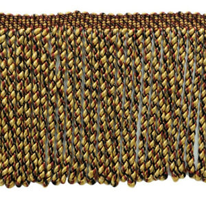 "Champagne Gold|6/"" Bullion Fringe Trim
