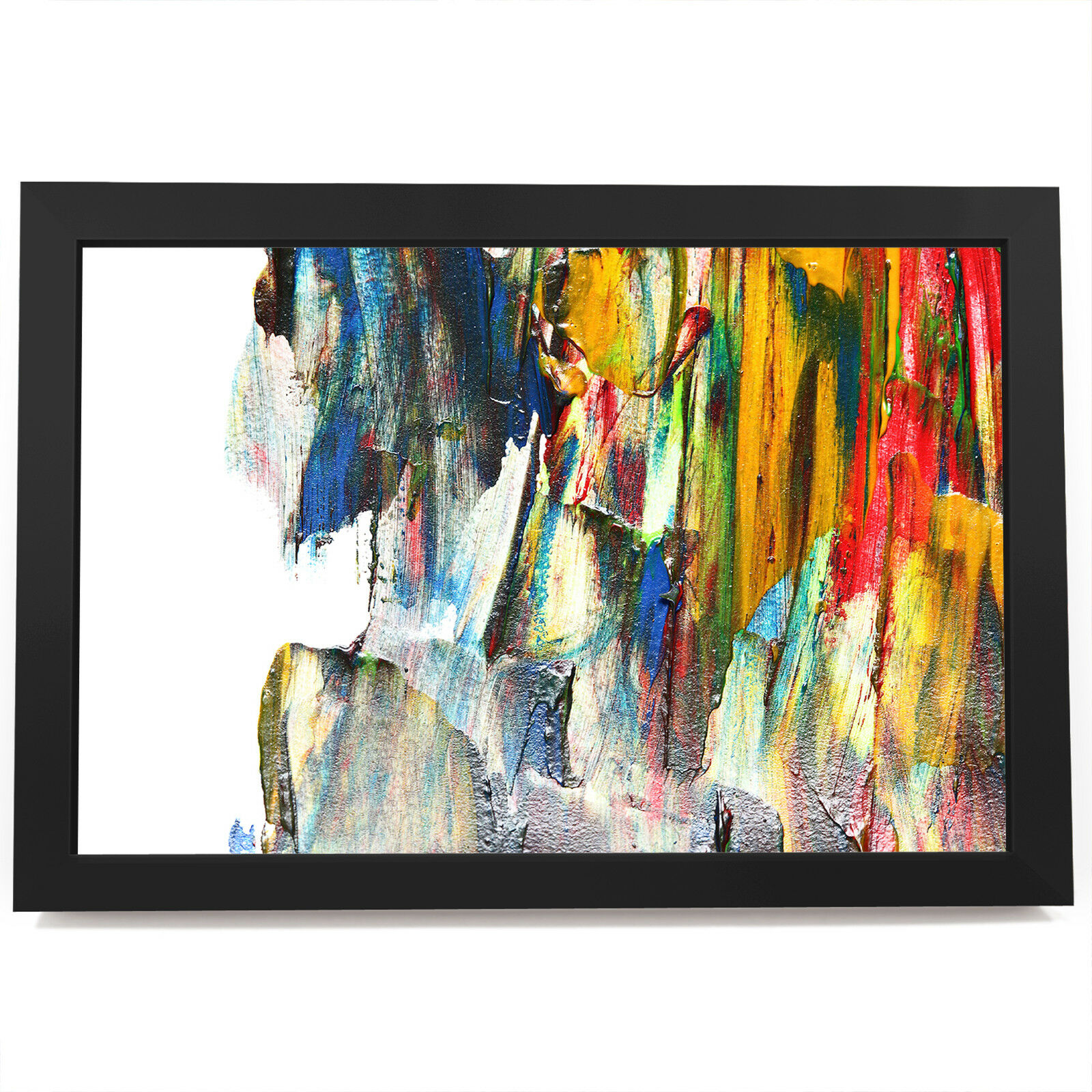 AB1765 Retro Colourful Cool Modern Abstract Framed Wall Art Large Picture Prints