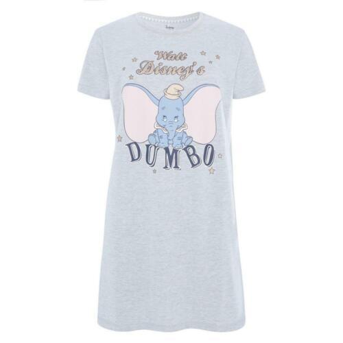 BNWT PRIMARK DISNEY Gris Dumbo Chemise de nuit tailles M XL