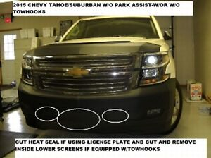 Lebra Front End Mask Bra Fits 2015-2020 Chevy Suburban ...