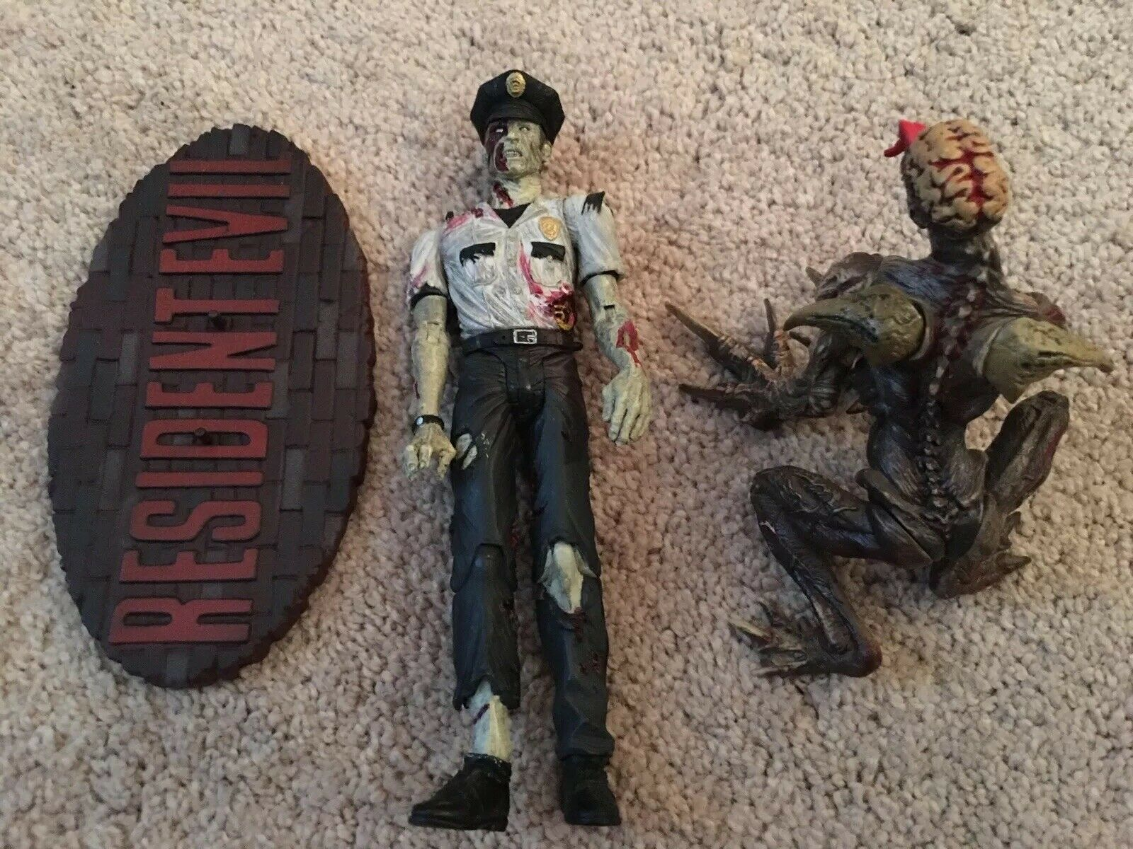 Resident evil palisades soldier zombie