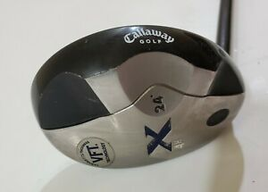 Callaway X VFT 24 Degree LH 4 Hybrid 4H Regular Flex 80g Shaft Mid Kick Torque