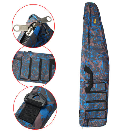 """47/"""" Tactical Carbine Rifle Range Gun Carry Case Double Padded Backpack Molle"""