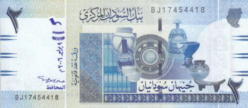SUDAN 2 POUNDS 2006 MWR-RD1 P-65 REPLACEMENT UNC  *//*