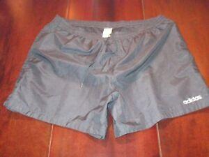 Vintage Adidas Sport Shorts Größe/size:10 Xxl 54-56 Gb=42 Gym Pants 90s Vtg 90er üBereinstimmung In Farbe Shorts Vintage-mode